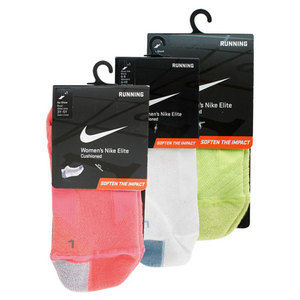 NIKE WOMENS ELITE RUNNING CUSHION SOCKS