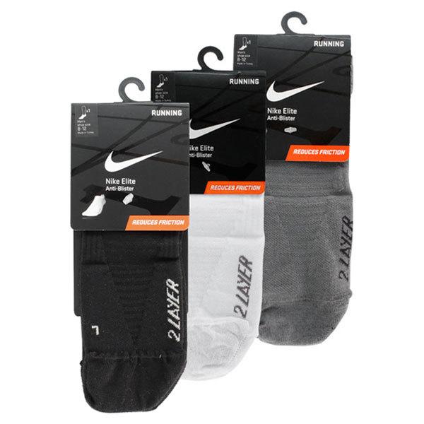 Elite Anti- Blister 2 Layer Low Cut Tab Large Socks
