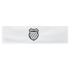 K-SWISS UNISEX WHITE TENNIS HEAD TIE