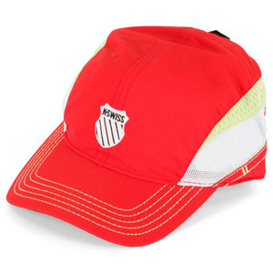 K-SWISS UNISEX KX FIERY RED TENNIS CAP