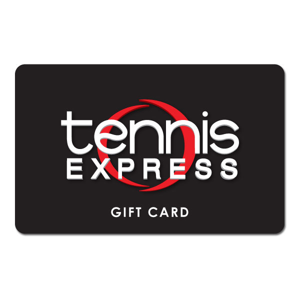 Black Gift Cards Tennis Express Gift Cards are the perfect gift for any tennis enthusiast Just select an amount between 10 and 300 and a Gift Card will be sent via US mail with delivery confirmation Gift Cards can be used online or our Houston store