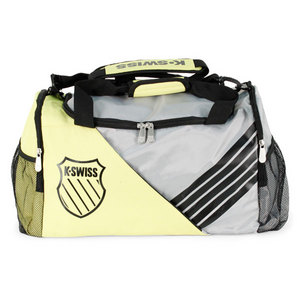 K-SWISS SPORT POP OPTIC YELLOW DUFFLE BAG