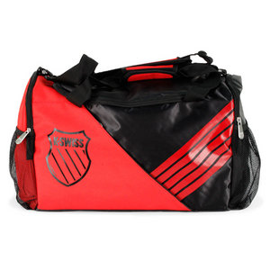 K-SWISS SPORT POP FIERY RED DUFFLE BAG