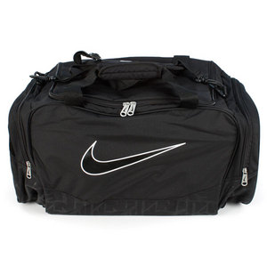 NIKE BRASILIA 5 MEDIUM BLACK DUFFEL BAG