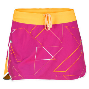 NIKE WOMENS PRINTED WOVEN RUNNING SKIRT