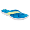 ADIDAS Women`s Chilwyanda Flip Flops Sharp Blue/White