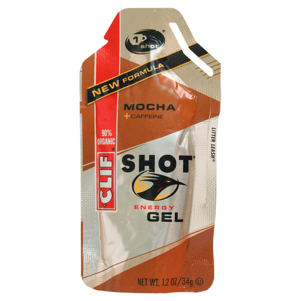 Clif Shot Mocha Energy Gel With Caffeine