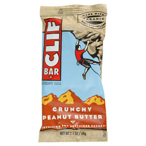 CLIF BAR AND CO CRUNCHY PEANUT BUTTER BAR