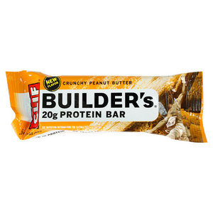 CLIF BAR AND CO CRUCHY PNUT BUTTER BUILDERS PROTEIN BAR