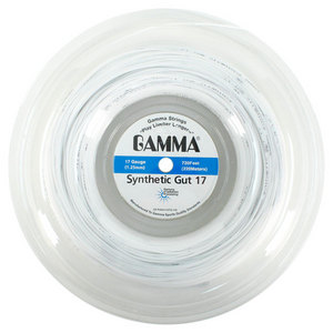 GAMMA SYNTHETIC GUT WHITE 17G REEL