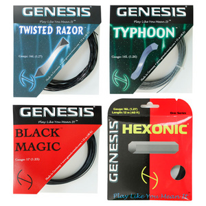 GENESIS 4 PACK SAMPLER TENNIS STRING