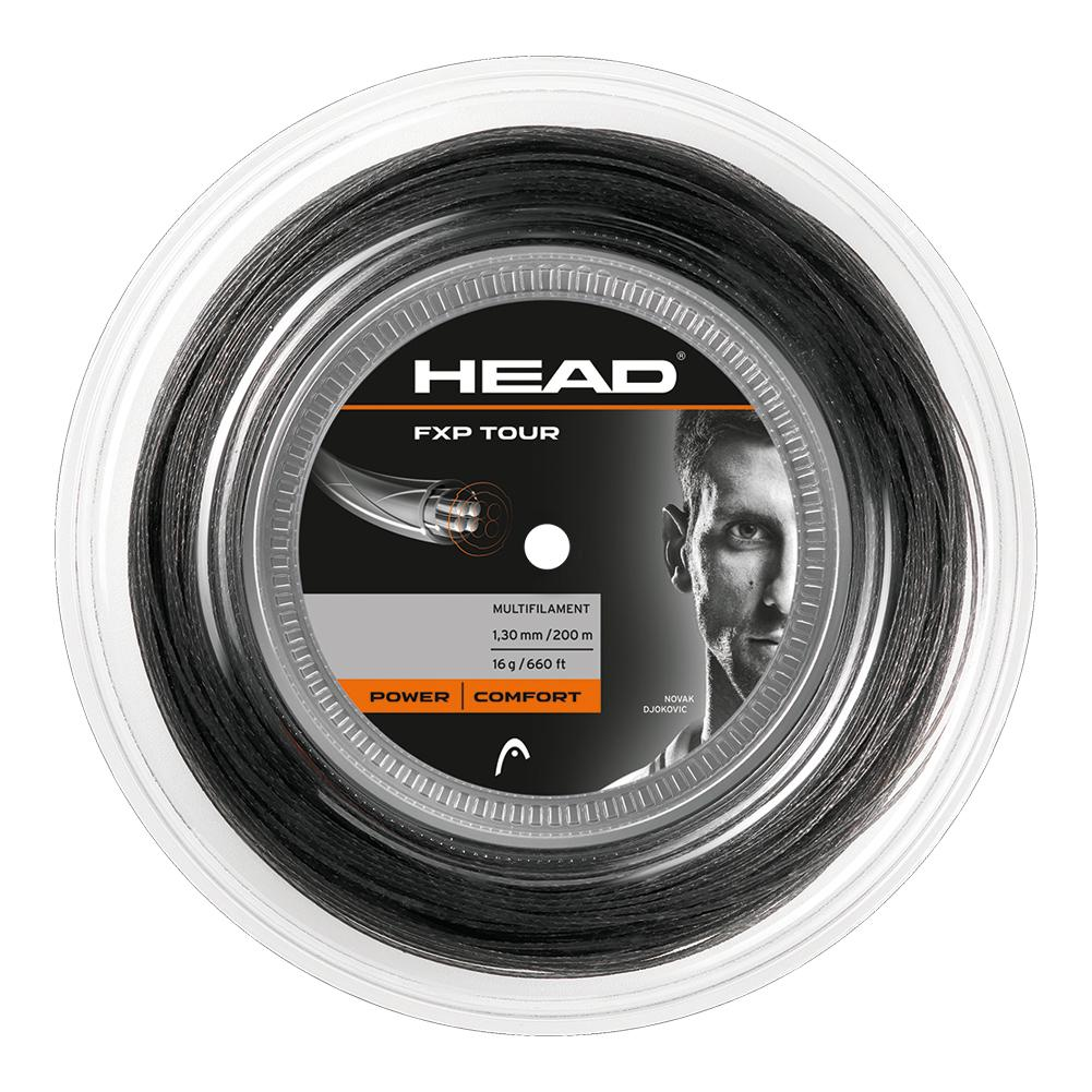 Fxp Tour 16g Liquid Black Reel Tennis String