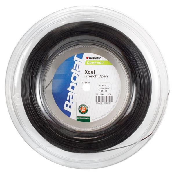 Xcel Black 16g Reel Tennis String