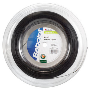 BABOLAT XCEL FRENCH OPEN 16G REEL TENNIS STRING