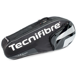 TECNIFIBRE VO2 MAX 6 PACK BLACK TENNIS BAG