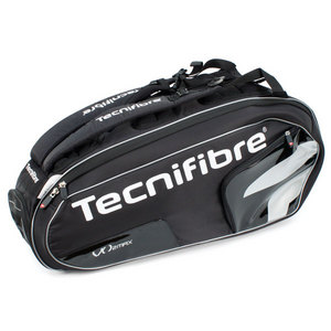 TECNIFIBRE VO2 MAX 9 PACK BLACK TENNIS BAG