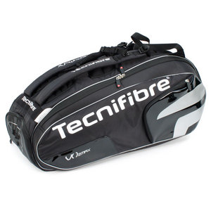 TECNIFIBRE VO2 MAX 12 PACK BLACK TENNIS BAG