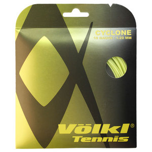 Cyclone 18G Neon Yellow Tennis String