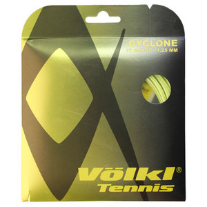 Cyclone 17G Neon Yellow Tennis String