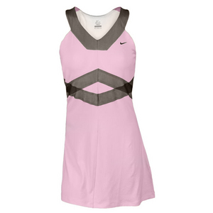 NIKE WOMENS MARIA BACK COURT DAY TENNIS DRESS