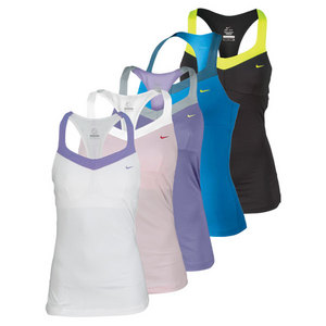 NIKE WOMENS MARIA BACK COURT TENNIS TANK