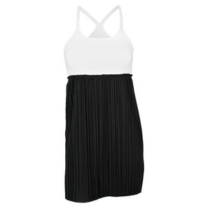 ELIZA AUDLEY WOMENS BABY DOLL TENNIS DRESS W/BRA