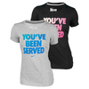 NIKE Women`s You`ve Been Served Wimbledon Tennis Tee