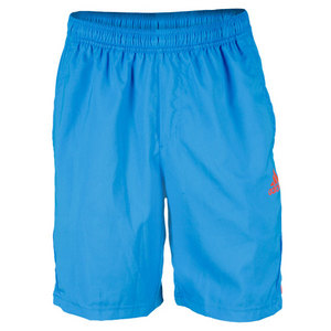 adidas MENS ADIPOWER BRIGHT BLUE TENNIS SHORT