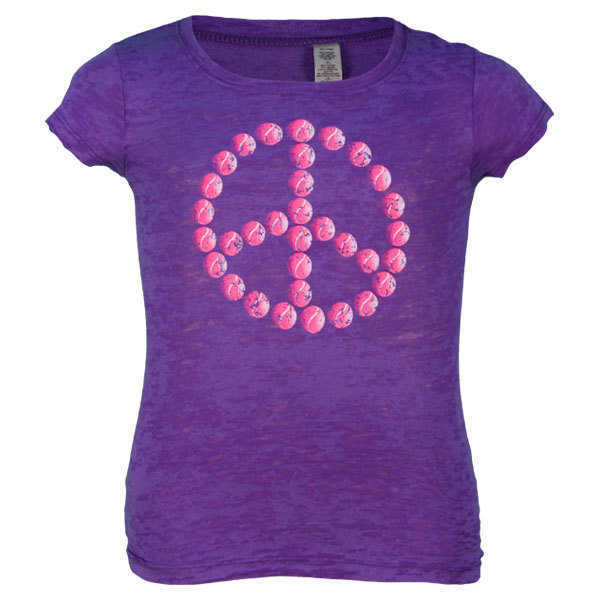 Ss Junior Passion Purple Tennis Peace W/Pink Balls