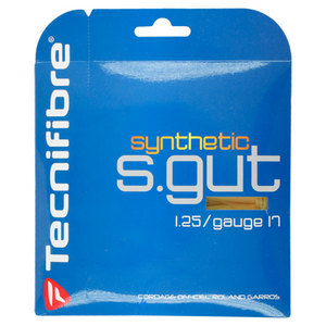 Synthetic Gut 17g Natural Tennis String