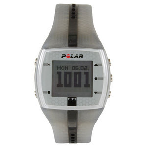 POLAR FT4M SILVER/BLACK WATCH