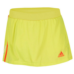 adidas WOMENS ADIZERO LAB LIME TENNIS SKORT