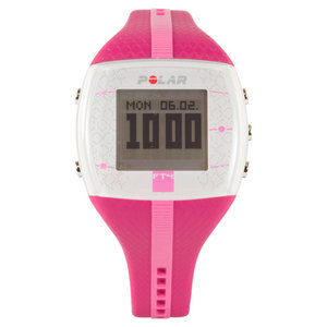 POLAR WOMENS FT4M PURPLE/PINK WATCH