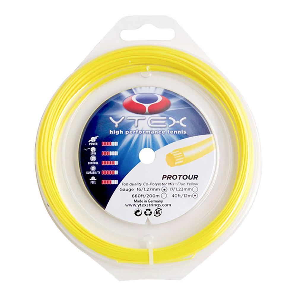 Protour Fluo Yellow 1.27mm/16g Tennis String