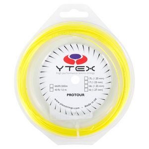 YTEX PROTOUR FLUO YELLOW 1.23MM/17G STRING