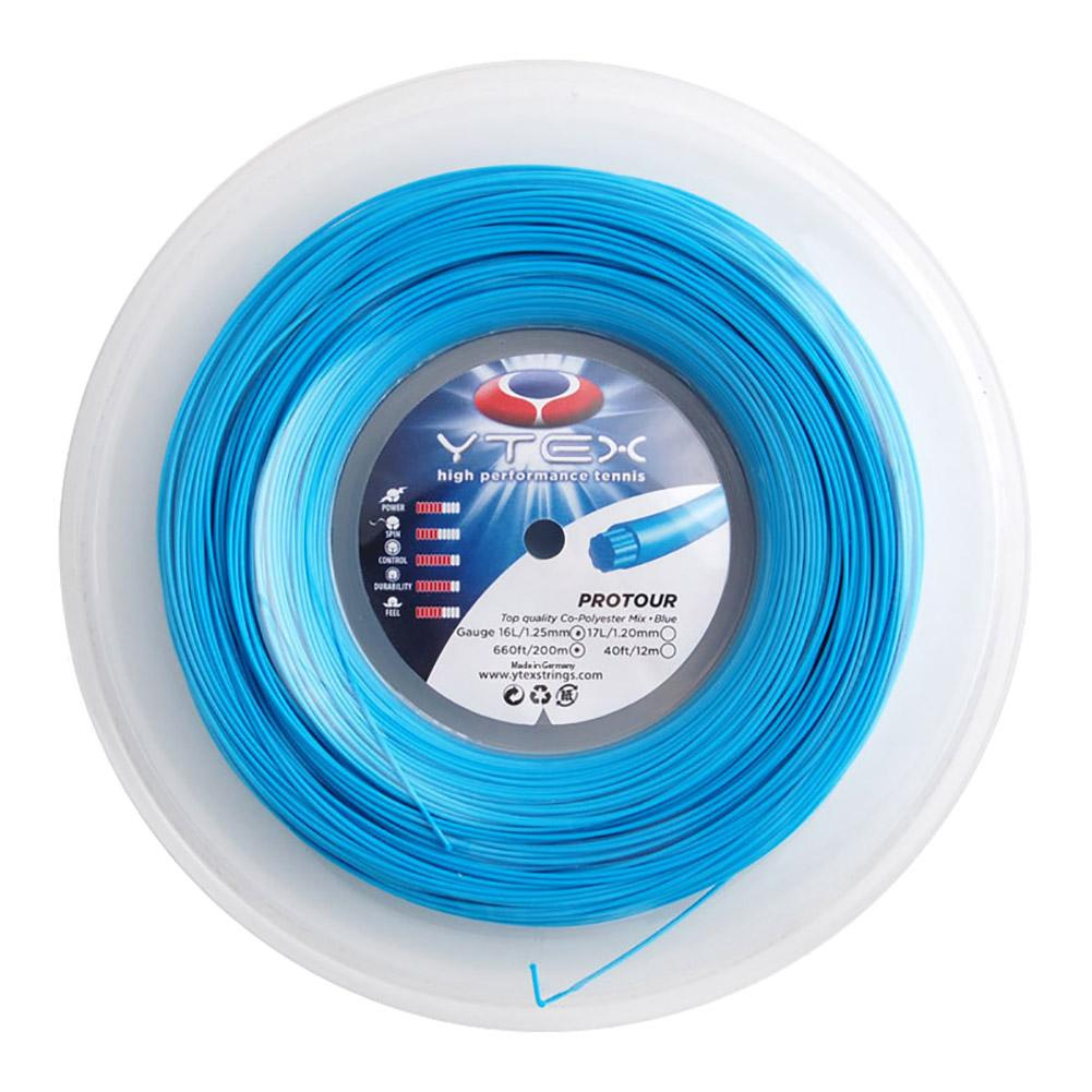 Protour Blue 1.25mm/16l Tennis String Reel