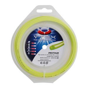 YTEX PROTOUR LIME 1.25MM/16L TENNIS STRING