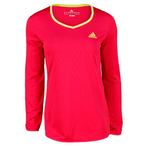 adidas WOMEN`S TENNIS ESSENTIALS LONG SLEEVE TE