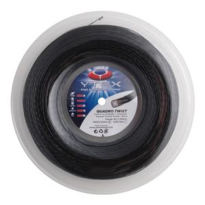 Quadro Twist Black 1.26MM/16L Tennis String Reel
