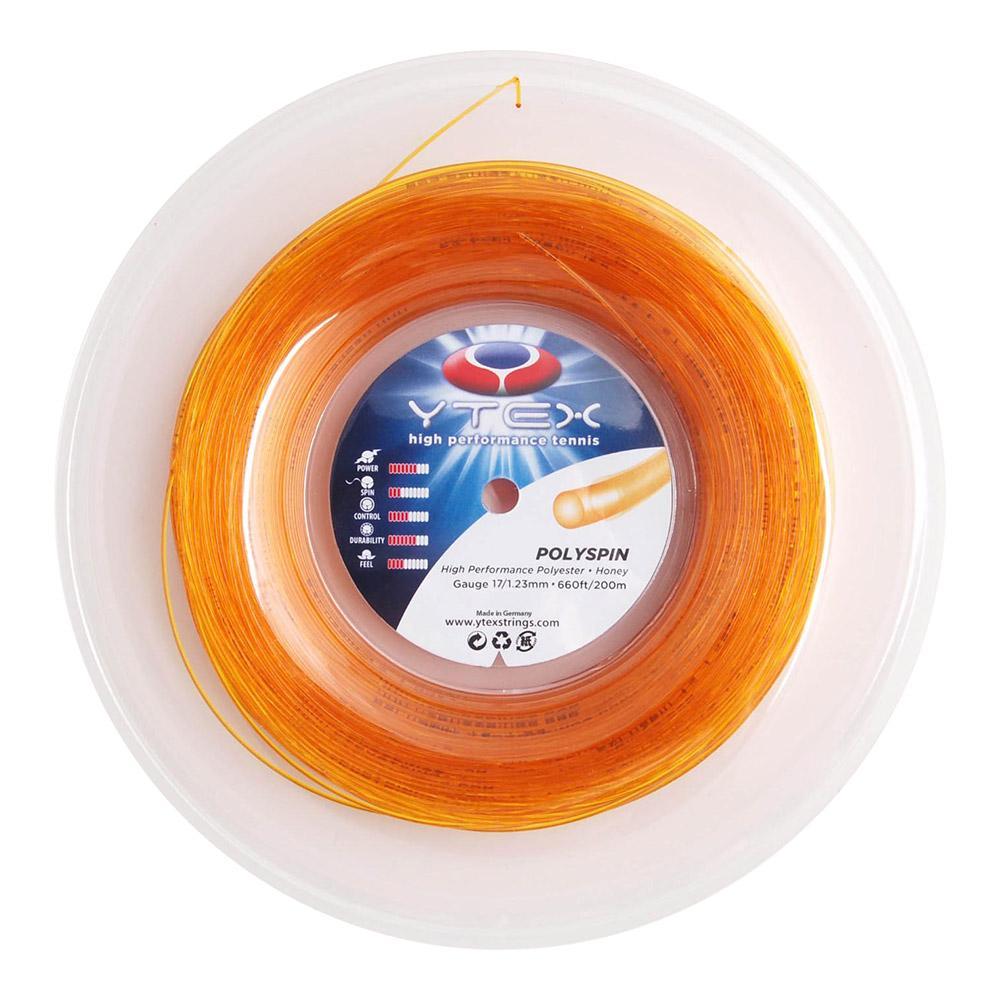 Polyspin Honey 1.23mm/17g Tennis String Reel
