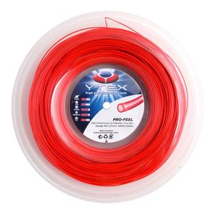 Pro-Feel Fluo Red 1.27MM/16G Tennis String Reel