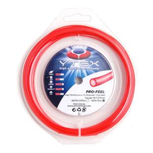 YTEX PRO-FEEL FLUO RED 1.27MM/16G STRING