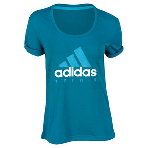 adidas WOMENS SEQUENCIALS EMERALD GR TEE