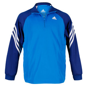 adidas BOYS RESPONSE BLUE TENNIS JACKET