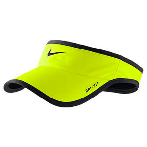 NIKE MENS FEATHERLIGHT VISOR VOLT/BLACK