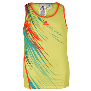 adidas GIRLS ADIZERO LIME TENNIS TANK