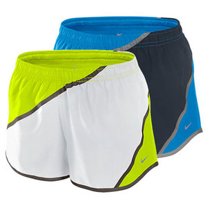 NIKE WOMENS TWISTED TEMPO RUNNING SHORT