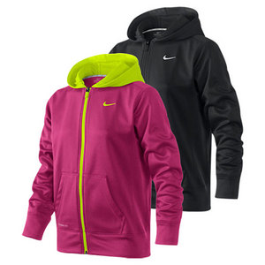NIKE GIRLS KO FULL ZIP TRAINING HOODY