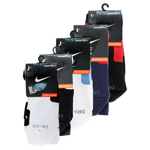 NIKE MENS ELITE BASKETBALL LARGE CREW SOCKS