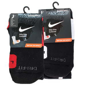 NIKE MENS ELITE BASKETBALL MEDIUM CREW SOCKS